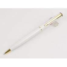 Le stylo noir en métal de vente chaude de promotion peut imprimer personnaliser le logo