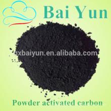 180mg / g filtre à l'eau de charbon actif industriel de bleu de méthylène