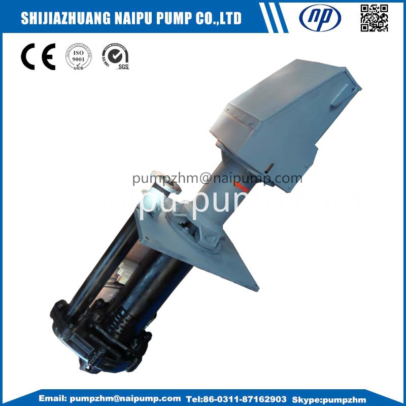 03 65QV vertical slurry pump