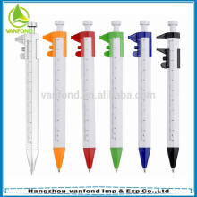 Novelty promotional plastic caliper pen BP44091