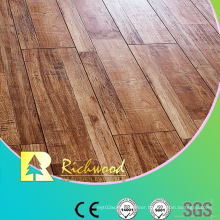 Household 12.3mm E0 HDF AC3 Embossed Oak V-Grooved Laminated Floor