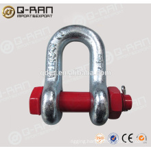 Anchor Clasp/Hot Sell Rigging Products Drop Forged Shackle Anchor Clasp