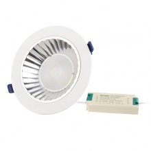 Eigen ontwerp Epistar 30W COB LED Down Light Fixtures