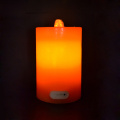 Lilin flameless Fountain dipimpin lilin air mancur