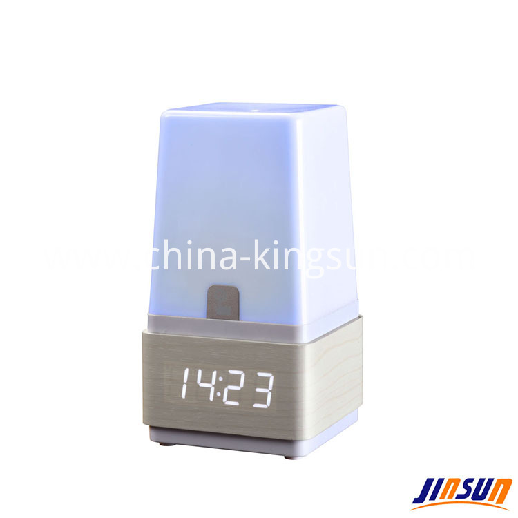 Led Lamp With Clock 504 4