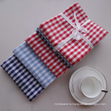 (BC-KT1001) Cleaning Cloth Stripe Grid Fashion Design Kitchen Towel