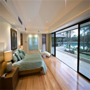 Tilt and Sliding Doors with Built-in Blind
