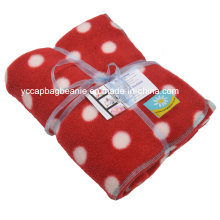 100%Polyester Printed Polar Fleece Blanket