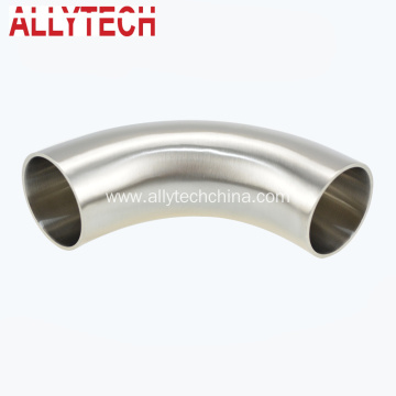 Stainless Steel Hygienic Welded Connection 180d Bend