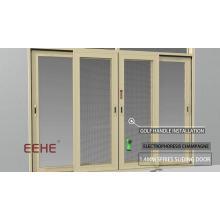 Aluminium heavy duty door /aluminium door handle windows