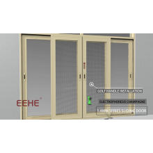 Фошань фабрика алюминиевые сверхмощные двери / алюминиевые ручки двери окна