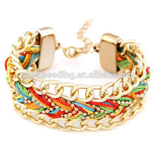 Pulseiras personalizadas pulseiras de corda personalizado