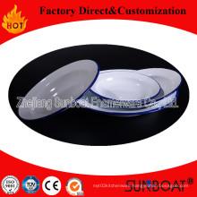 Sunboat Enamel Palte /Tray /Dish
