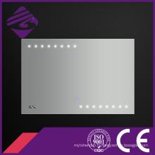 Jnh178 nouveau design Rectangle LED Point Lumière salle de bains Smart Mirror