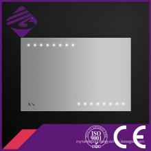 Jnh178 Newest Design Rectangle LED Point Light Bathroom Smart Mirror