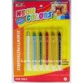 6-color neon face paint pen