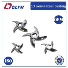 Customized kitchen accessories stainless steel investment casting meat mincer parts