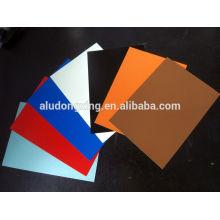 0,6 mm 3005 feuille d'aluminium H16 peinture PE