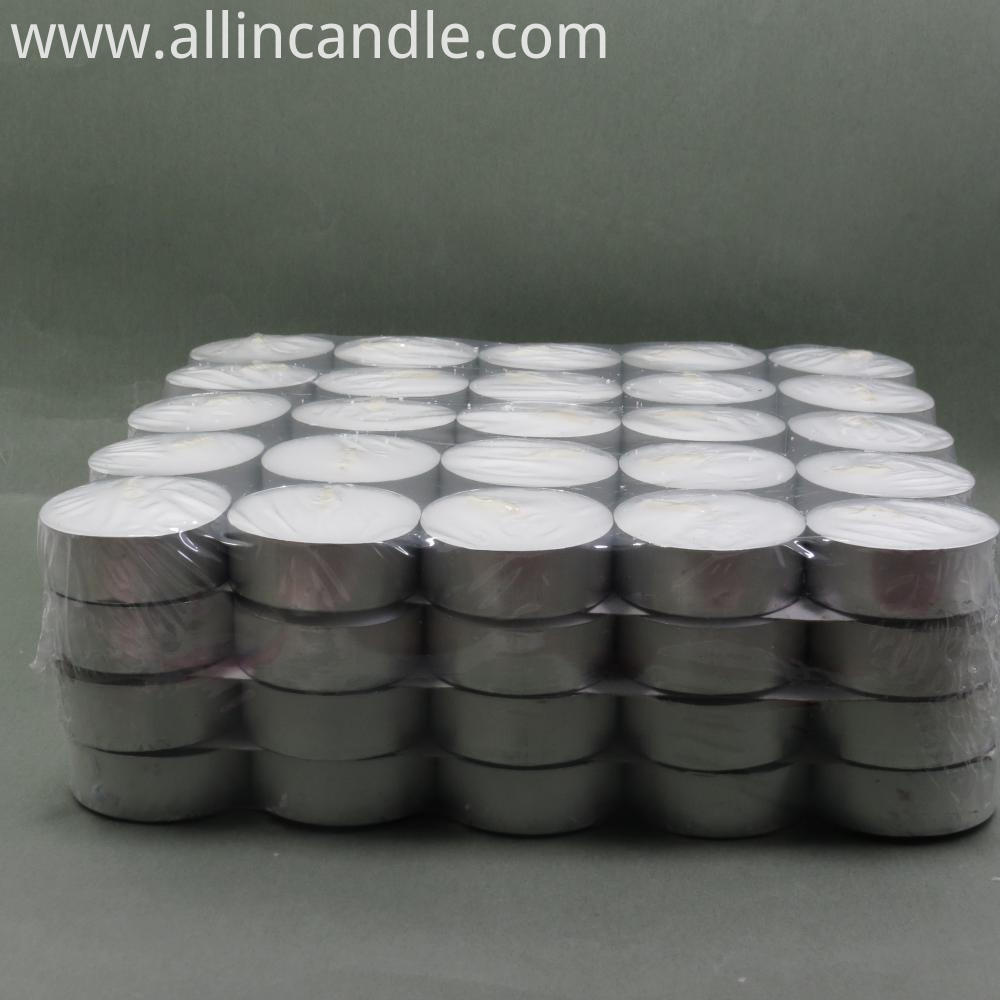 Aluminium Tea Light Candle