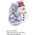 Снеговик, упаковка печенья