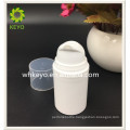 15ml/30ml/60ml Hot sale high quality make up packing white colored empty cosmetic PP airless pump lotion bottle