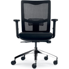 New Design Black Swivel Workstation Chair (FOH-XK14)