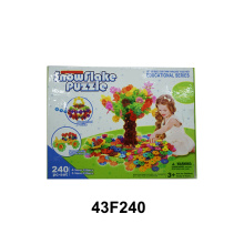 Criativo Early Educational Plastic Snowflake Building Toys