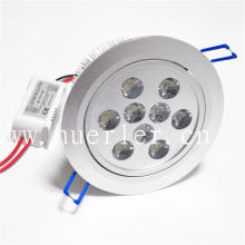 9w led ceiling down light 12v 220v 110v 100-240v light manufacturer