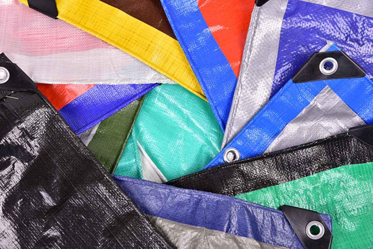 colorful tarpaulin