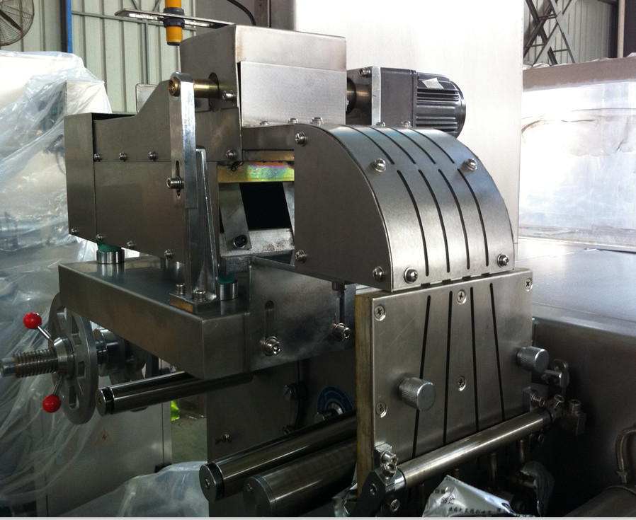 feeding tunnel of strip packing machine