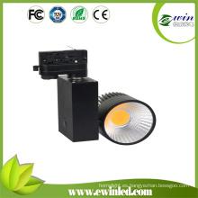 2200-2500lm iluminación de pista LED con 3 años de duración