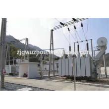 Уровень мощности 66кВ Трехфазный двухполюсный трансформатор питания РПН