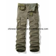 Wholesale Fashion Long Wash Pants for Men, Men Trousers