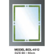 Espelho de vidro do banheiro da prata da espessura de 5mm (BDL-4012)