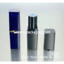 Пустая трубка для помады в упаковочных тубах черная помада трубка для упаковки пластиковая косметическая упаковка оптом