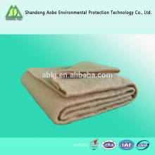 Hot sales degradable jute fibre needle punching felt