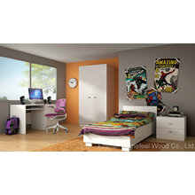 Modern Wooden Children Bedroom Furniture (HF-EY08102)