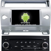 HOT! Touchscreen Android Auto Multimedia-Player für Citroen OLD C-QUATRE / C4 (grau und schwarz)
