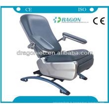 DW-BC003 électriques lits réglables médical réglable sang chaises d'urgence électrique sang don chaise