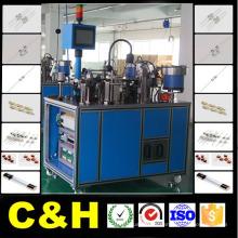 Machine à assembler un fusible en tube de verre / fusible micro / fusible en verre / fusible de voiture
