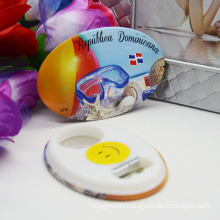 Custom Shape Bottle Opener Fridge Magnet with Creative Design