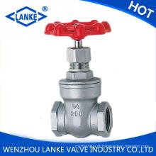 Válvula de porta de rosca ANSI com 200wog