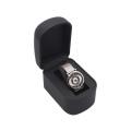 New Design Trending Products Custom Logo Long Travel Watch packaging Box Black watch band box