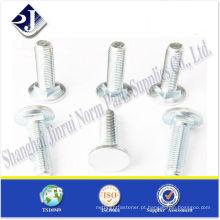 Parafuso de transporte de cabeça plana ISO9001-2008 TS16949