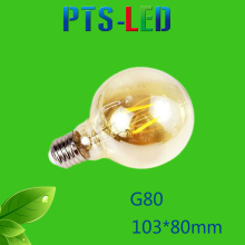G80 4W 6W 8W 400-900lm a Filament de LED Dimmable ampoule