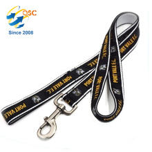Layer Dog Leash Heavy Duty Strap with Reflective Stitching