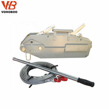 1.6T Hand Operated Lever Wire Rope Pulling Winch Hoist Alum. Type