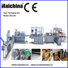 Tea Auto Packing Machine / Packing Production Line With Plastic Pvc