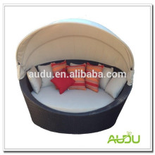 Audu 1 PC Holiday Rattan Round Canopy Bed