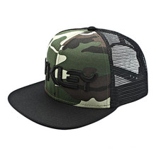 6 Panel Stickerei Camo Trukfit Snapback